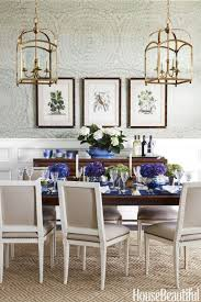 Best Dining Room Decorating Ideas And Pictures - Blue and white dining room