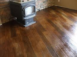 Laminate Flooring That Looks Like Brick Concrete A Stylish Medium With A Pleasing Price Tag Interior