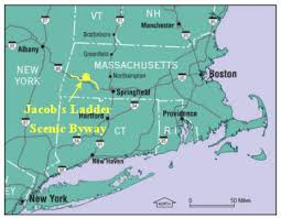 mass pike exits map jacob s ladder scenic byway massachusetts historic