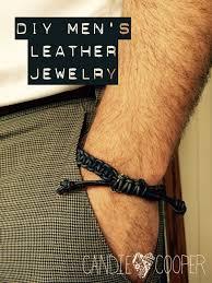 diy bracelet men images Make it manly diy men 39 s leather jewelry candie cooper jpeg
