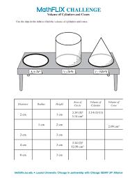 volume cylinder worksheet free worksheets library download and