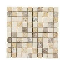 Marble Mosaic Floor Tile Bath Wall Jeffrey Court 12x12 Mosaic Tile Tile The Home