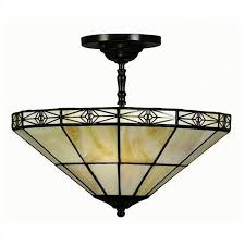 mission tiffany ceiling light tiffany style geometric mission style hanging l free shipping