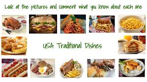 cuisine usa esol conversational topics topic 2 food and traditional di