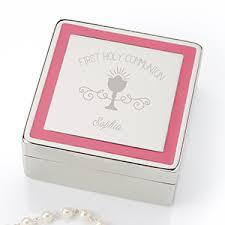 communion jewelry engraved jewelry box communion