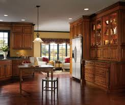 cherry kitchen cabinets kemper cabinetry