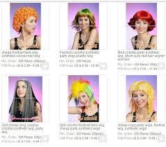 mens fancy dress wigs multi color naruto cosplay wig buy mens