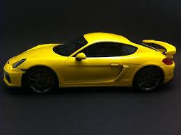 Porsche Macan Yellow - porsche cayman gt4 2015 yellow 1 18 gt spirit wax02100008