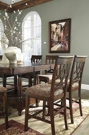 dining room decor on a budget leahlyn barstool by ashley