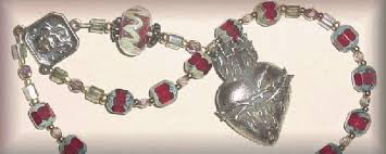 sacred heart rosary padre pio sacred heart novena rosaries and chaplets by via rosa