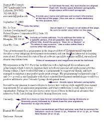 letter of application letter of application full block format