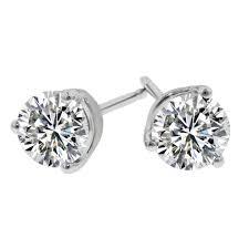 diamond stud 14k 25cttw diamond stud earrings better quality