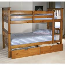 Wooden Bunk Beds Built With Safety In Mind Bedstar - Double bunk beds uk