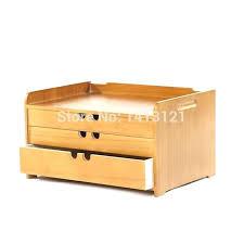 rangement bureau bois boite rangement bureau boite a tiroir en bois livraison gratuite a4