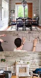 How To Whitewash Wood Walls by Pallet Wall And Shiplap Wall 30 Beautiful Diy Wood Wall Ideas