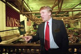 as its stock collapsed trump u0027s firm gave him huge bonuses and