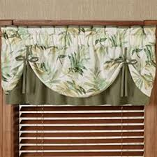 Tie Up Valance Kitchen Curtains Window Valances Touch Of Class