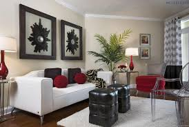 home design red white living room wall decal cool contemporary