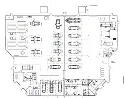 car service center floor plan our facility telesis collision center auto body repair