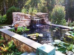 Pictures Of Backyard Waterfalls by Modern Decoration Backyard Waterfalls Exquisite Backyard