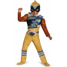 football player halloween costume for kids blue power ranger dino charge classic muscle child halloween