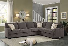 Chenille Sectional Sofa Westwood 4 Chenille Sectional By Coaster 501001 Inside Sofa