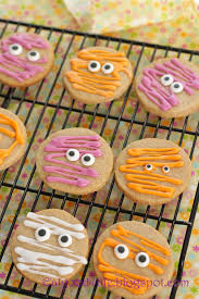 Decorated Halloween Sugar Cookies by 100 Whole Wheat Halloween Sugar Cookies