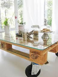 mit paletten wohnideen couchtisch selber bauen palette rheumri