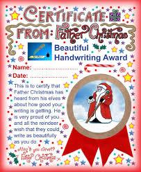 santa certificates rooftop post printables