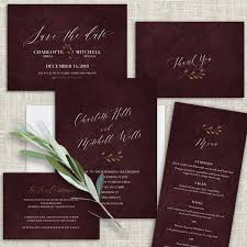 burgundy wedding invitations burgundy wedding flowers archives noted occasions unique and