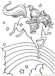 free printable rainbow brite coloring pages 80 u0027s party