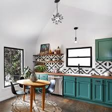 Kitchen Distressed Turquoise Kitchen Cabinets Home Design Ideas Best 25 Funky Kitchen Ideas On Pinterest Brave In Spanish Teal