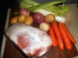 cuisiner palette demi sel recette de palette de porc demi sel a la limousine