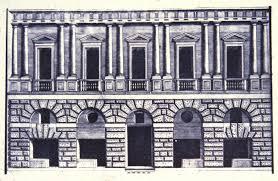 bramante rome pal caprini c 1510 engraving elevation jpg