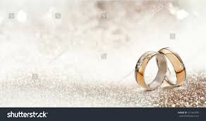 congratulations engagement banner panoramic banner two upright gold wedding stock photo 517467259