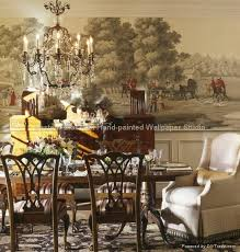 hand painted wallpaper chinoiserie silk wall coverings ec