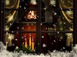 fireplace christmas tree christmas lights decoration