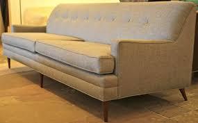 Dunbar Style Tight Back Sofa Mid Century Modern Furniture Houston - Houston modern furniture