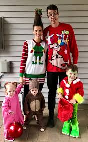 grinch themed family halloween costumes 2016 u2014 green robe