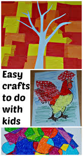 easy crafts to do with kids ofamily learning together
