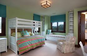 Over The Bed Bookshelf Traditional Kids Bedroom With Window Seat By Smith Brothers
