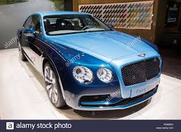bentley flying spur 2017 blue flying spur stock photos u0026 flying spur stock images alamy