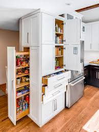 sliding shelves for kitchen cabinets shelves incredible modern white kitchen design plus pull out