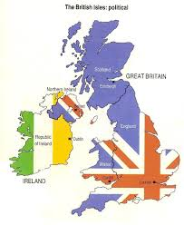 Map Of Ireland And England by True Or False England Edition English And English Course