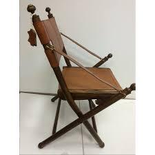 chaise de realisateur chaise actor style fauteuil de cinéma en cuir et bois