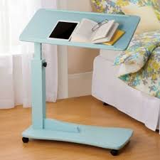 bed table on wheels adjustable side table with wheels marvellous bed tables with wheels