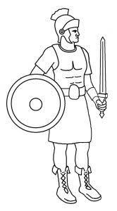 coloring pages magnificent roman coloring pages soldier free