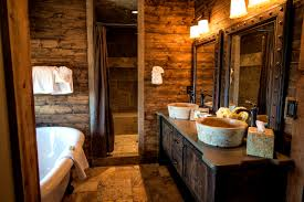 Log Cabin Home Decor Accessories Foxy Log Cabin Bathrooms Your Home Decorations