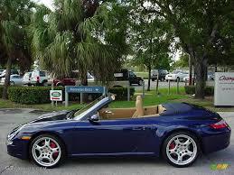 porsche 911 convertible 2005 2006 lapis blue metallic porsche 911 carrera 4s cabriolet 1199927
