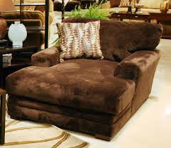 chocolate brown velvet double chaise chair with decorative cushion